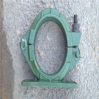 Locking concrete pipes highly abrasive 4'' forged snap clamp made in china