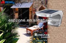 batteria solare del giardino del led sensore di luce esterna