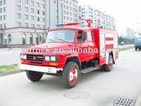 foam tender small and medium size rescue fire fighting truck