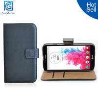 Book Stand Leather Wallet Cover Cover for LG G Vista VS880 Hot Selling