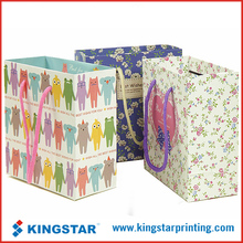 cotton rope handle shopping paper bag