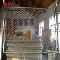 Galvanized metal mesh for fencing prices supplied by anping valor