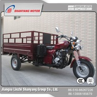 High efficiency adult cargo tricycle 3 wheel pickup truck