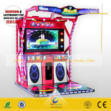 2015 new Super Dance Station 5 Touch Screen crazy dacing game