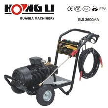 SML3600MA Motor Driving High Pressure Water Cleaner with 7.5KW 3600psi