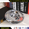 Best quality crystal ashtray for promotional gifts