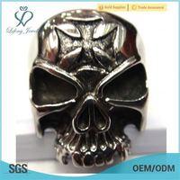 cheap skull ring,biker ring,skull head ring