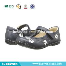 zapatos de vestido de cuero para niñas