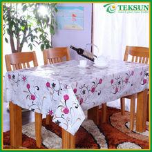 2015 new durable custom pvc flexible plastic sheet plastic tablecloth in rolls