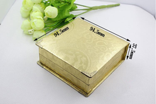 Exquisite pendant pendant wooden box, wooden jade packing box, wooden gift box