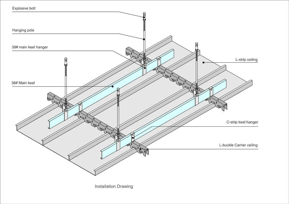 suspendu aluminium lin aire plafond hot vente en aluminium c bande plafond c100 c200 tuiles de. Black Bedroom Furniture Sets. Home Design Ideas