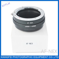 xffly for Sony Alpha A AF Minolta MA lens to NEX E Mount Adapter ring