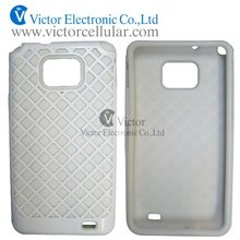 mobile phone case for Sumsamg Galaxy S2/ i9100, Silicon+PC,outter net design