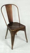 vintage metal dining chair