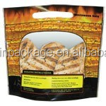 reusable microwave popcorn bags/barbecue charcoal packaging bags/plastic bag with zipper