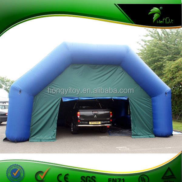 Inflatable Car Garage : Outdoor inflatable car garage tent strong waterproof