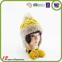 2015 New Fashion Colourful Beanie Crocheted Hat Handmade Children Winter Knitted Cap