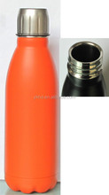 promotional stainless steel cola bottle with high quality
