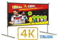250 inch 16:9 3D silver fast fold projection screen