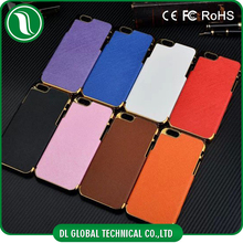 cell phone case for iphone 6 Cross pattern PC PU leather cell phone case for iphone 6