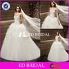 CE1419 New Collection A-Line Sweetheart Heavy Crystal Beaded Wedding Women Dresses