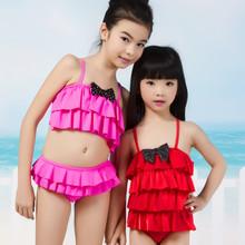 Cintex fabricante de China vestido de baño con arco de punto para las muchachas
