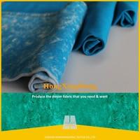 NO.619 Yarn dyed cotton polyester spandex denim fabric