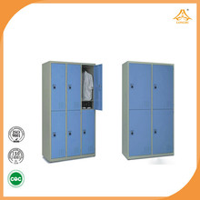 Factory direct sale stainless steel cheap gym metal locker used in bedroon bedroom furniture