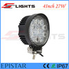 Hot Sale IP67 4*4 4 Inch Round Epistar 27W LED Tuning Light