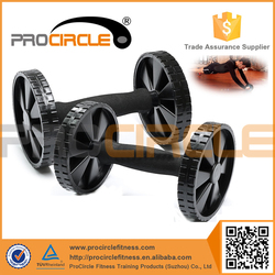 High Strenght Rubber Materials Dual Roller AB Wheel