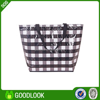 China laminated pp woven foldable reusable shopping bag