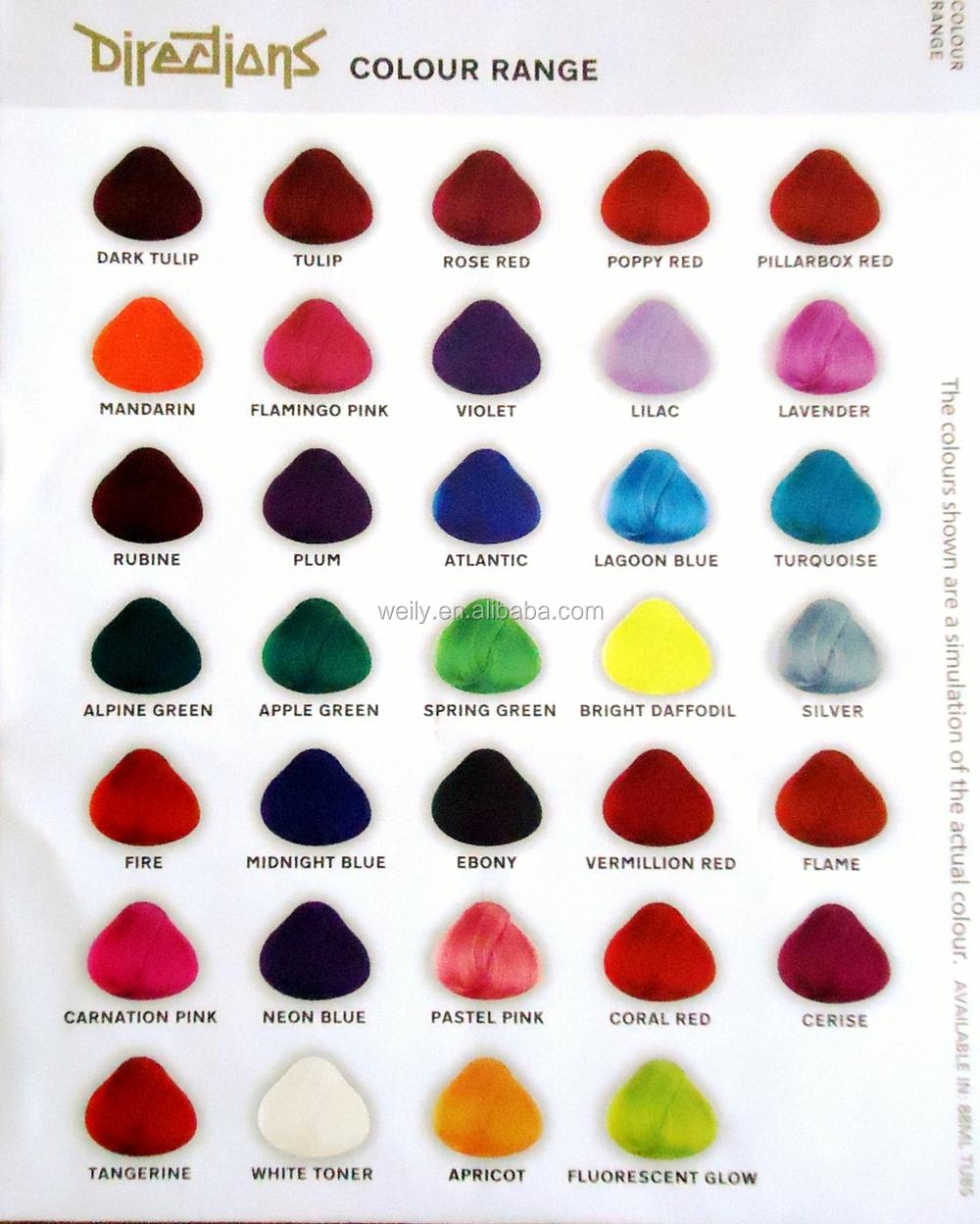 G Hair Color