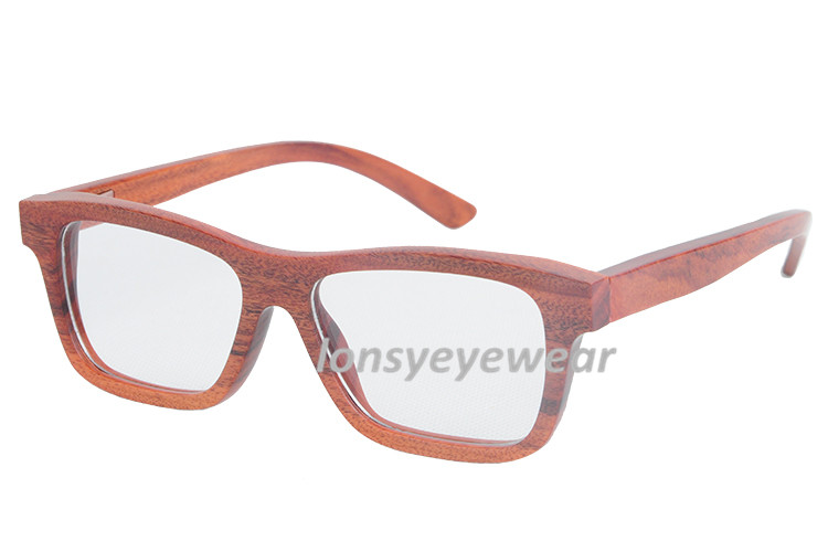 Change Eyeglass Frame Color : New Arrival Eyewear Ebony Wooden Full Frame Eyeglasses ...