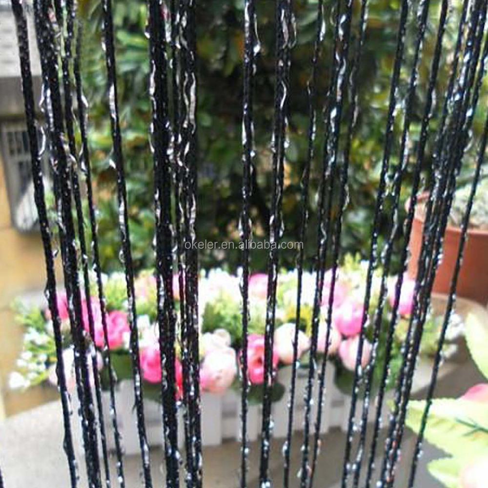 Best Selling Bling Strip Drape String Gordijnen voor Kerst ...