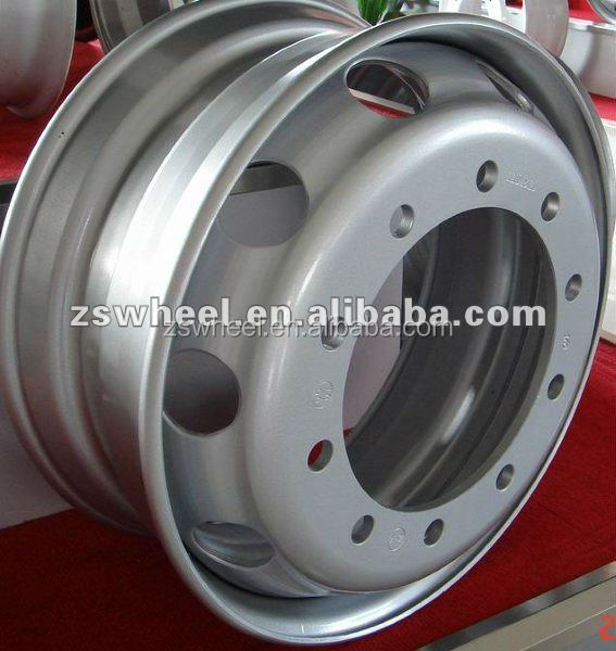 steel wheel rims 22.5x8.25 for tyre 11R22.5 with TS16949/ISO9001