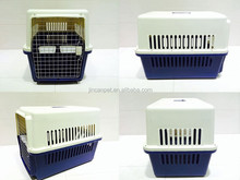 Dog plastic Flight Carrier/house for four colors and five sizes