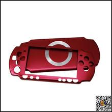 for Sony PSP 2000 Hard Aluminum Cover Skin Case red