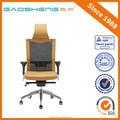 Gs-g1330 alta calidad elástica silla de oficina, oficina de aluminio base