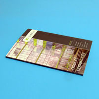 Offset print cheap softcover glossy parts catalog