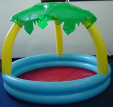 floating island pool inflatable palm tree pool islands inflatable swimming pool