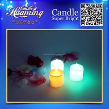 Huaming Colorful Electronic Flameless LED Wax Candle Light