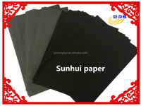 Black paper sheet copy paper 150gsm paper with low price