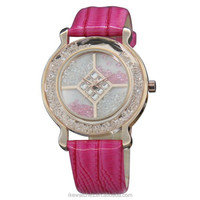 Fashion lady watch with full stones,sapphire crystal watch glass
