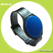 WRA01 NTAG203 proximity rfid reused wristband for healthcare system ( GYRFID )