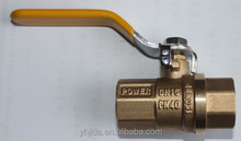 Lever handle female forged brass ball valve high quality