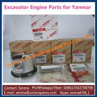 excavator engine parts for yanmar 4TNV98 liner kits