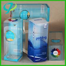 pvc /pet soft plastic folded box