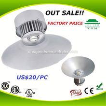 aluminium alloy Housing IP54 Waterproof New products 50w indoor motion sensor ceiling light Terminal yard highbay lights