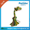 Alibaba pet product dog rope toy with glow in the dark