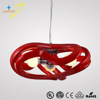 GZ50009 simple Dining Room chandelier modern hanging Round acrylic Pendant Lights